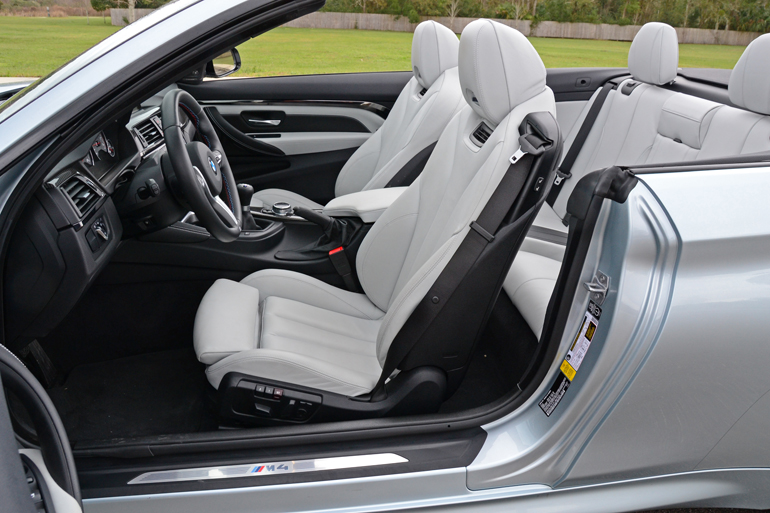 2015 Bmw M4 Convertible Front Seats