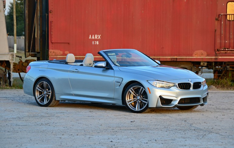 2015 Bmw M4 Convertible Side Front