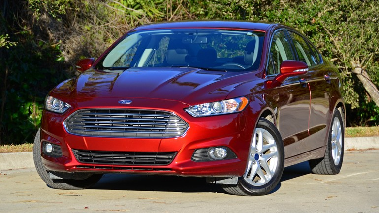 2015 Ford Fusion SE 1.5 EcoBoost Review & Test Drive