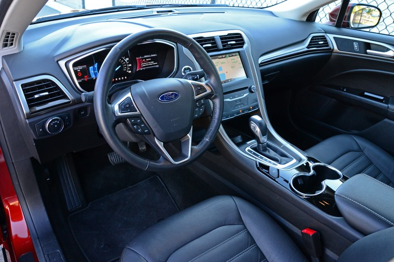2015 Ford Fusion Se Dashboard