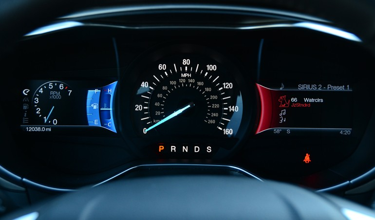 2015 Ford Fusion Se Dashboard Gauge Cluster