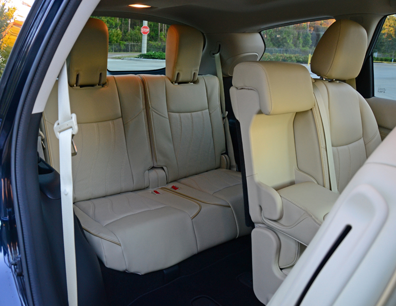 2017 Infiniti Qx60 Third Row Seats