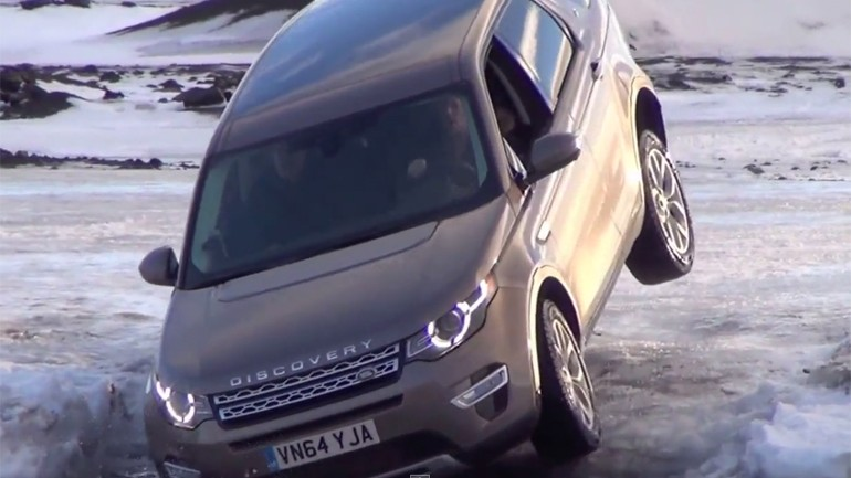 2015 Land Rover Discovery Sport Paving Its Own Path in Iceland: Video