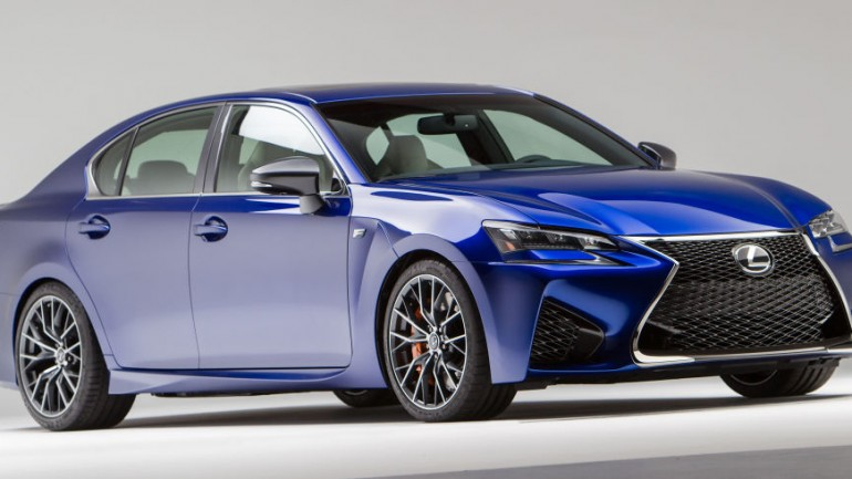 Lexus Reveals All-New GS F Luxury Performance Sedan With 467-HP 5.0-Liter V8
