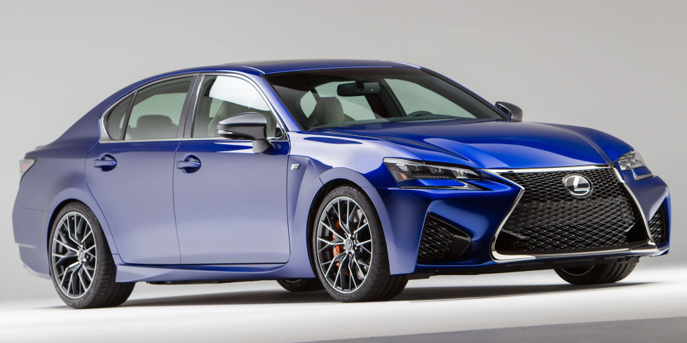 lexus reveals all new gs f luxury performance sedan with 467 hp 5 0 liter v8. Black Bedroom Furniture Sets. Home Design Ideas