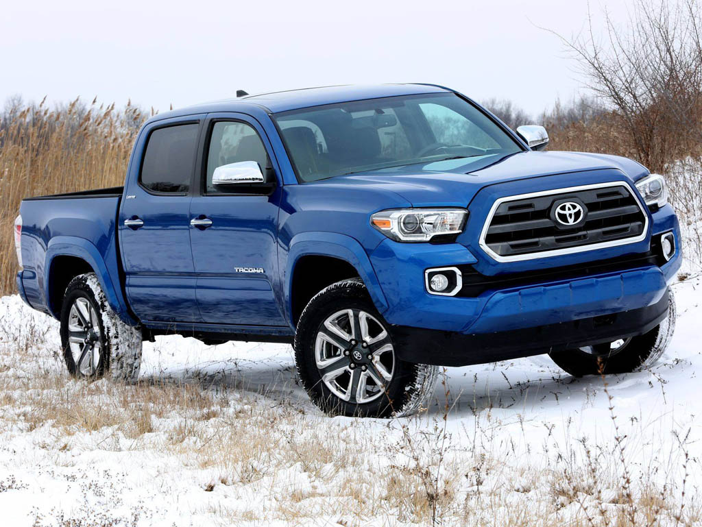 Tundra Limited 2016 >> 2016 Toyota Tacoma Uncovered Before Detroit Debut