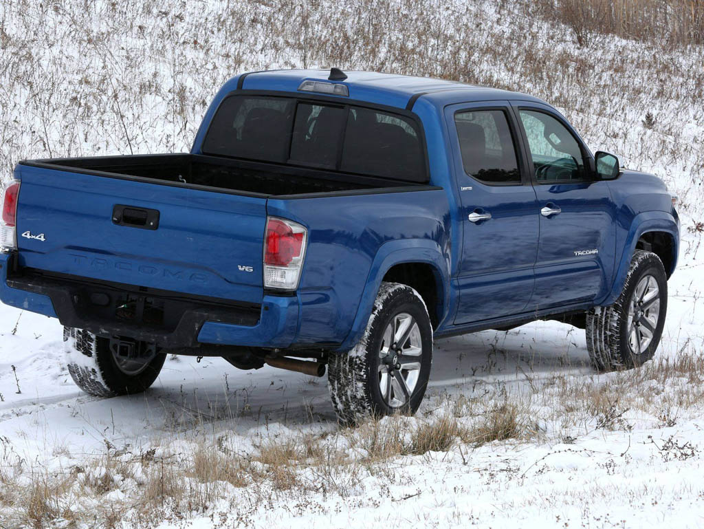 2016 Toyota Tacoma Uncovered Before Detroit Debut