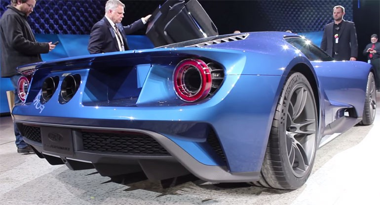 2017 Ford GT Makes the Sound of American Victory: Video