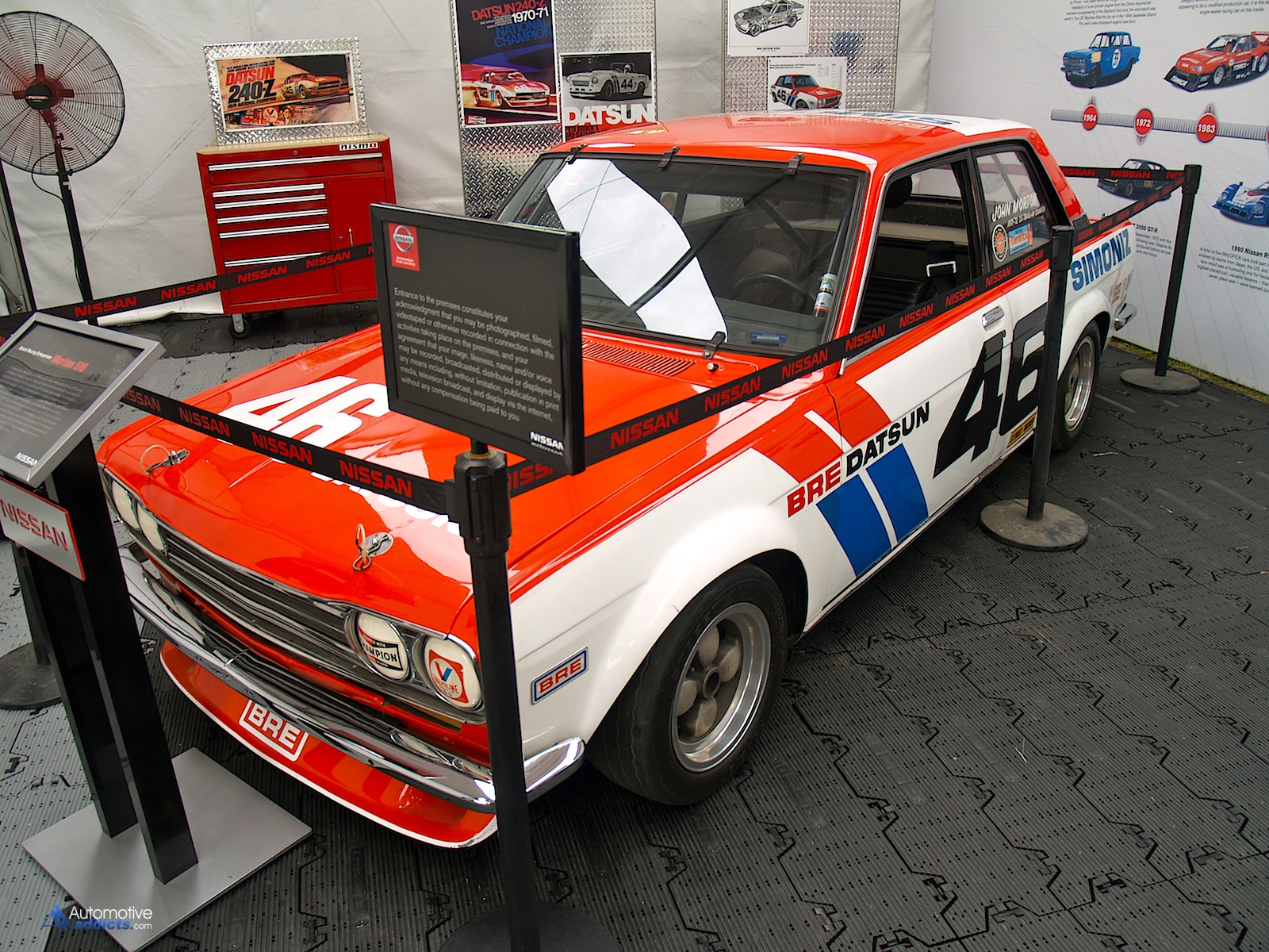 bre datsun 510 makes an appearance at the 53rd rolex 24 at daytona
