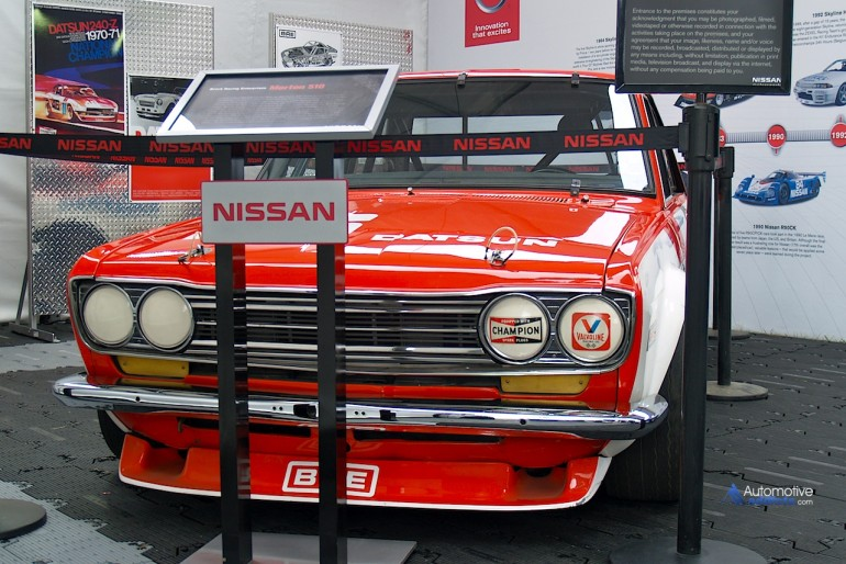 BRE #46 John Morton Datsun 510