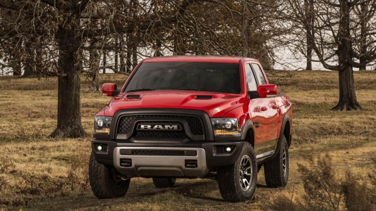 2015 RAM 1500 Rebel Brings Off-Roading To A New Height at Detroit Auto Show