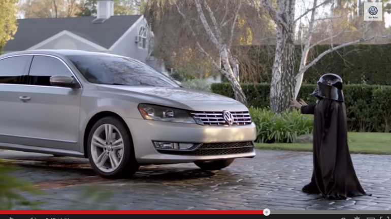 Countdown to Superbowl XLIX : Our Favorite Commercials – 2012 VW Passat