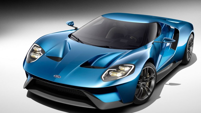 All-New Ford GT Revealed at Detroit Auto Show