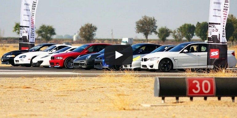 Half-Mile Top Speed Favorite Tuner Vehicle Shootout: Video