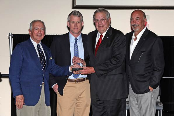 Amelia Concours d'Elegance President Bill Warner Wins 2014 Road Racing Drivers Club Bob Akin Award