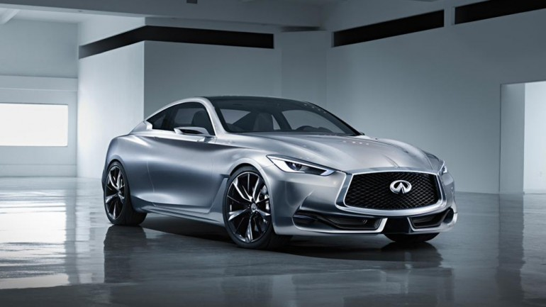 Infiniti Q60 Concept Looks Promising – To Debut at 2015 NAIAS in Detroit