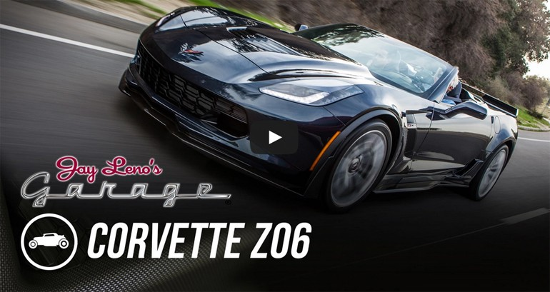 Jay Leno Tests Out the All-New 2015 Corvette Z06: Road Test Video