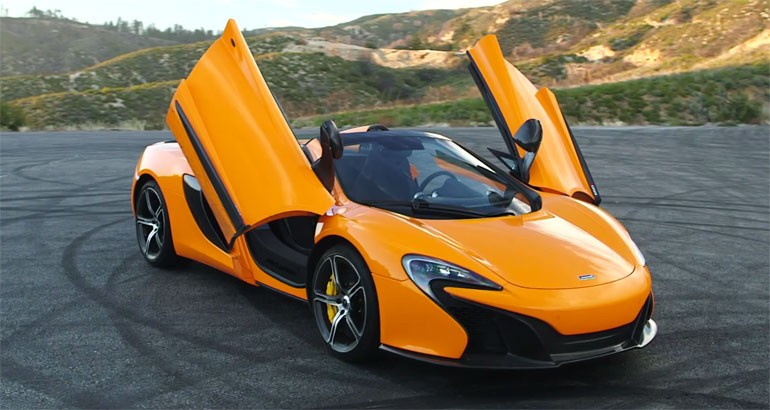 McLaren 650S Spider Test Driven: Video