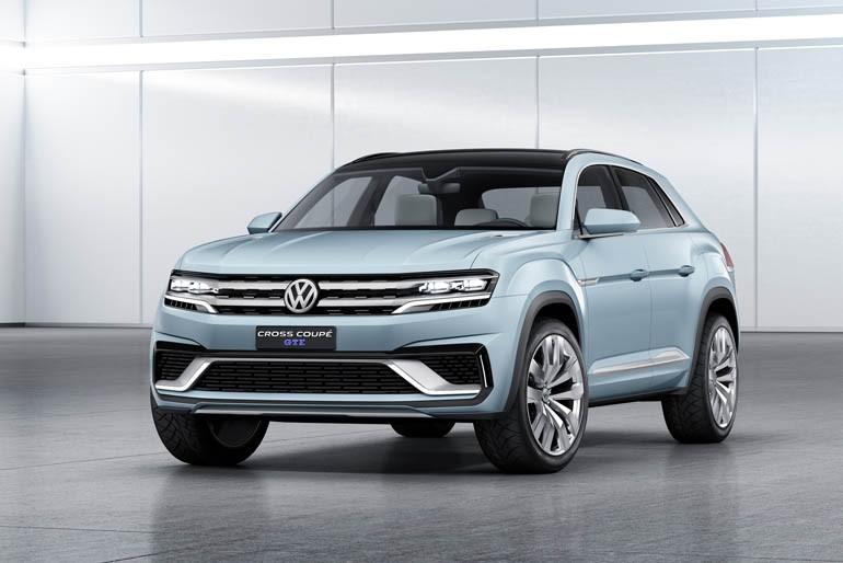 Volkswagen CrossCoupe GTE Concept