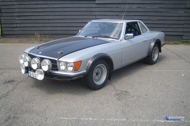 1980 500 SL Mercedes-Benz Classic - Credit Mercedes-Benz USA, LLC
