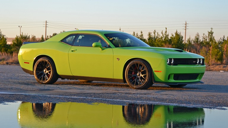 2015 Dodge Challenger SRT Hellcat 6-Sp Manual Driving Impressions Review