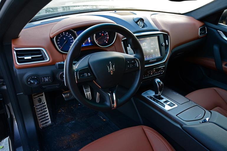 2015 Maserati Ghibli Sq4 Dashboard