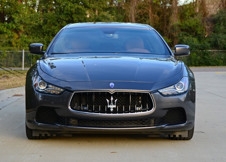 2015 Maserati Ghibli Sq4 Front