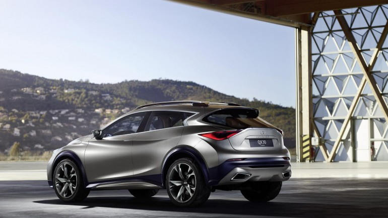 Infiniti QX30 Concept Image Released Showcasing Commitment to Crossover Segment
