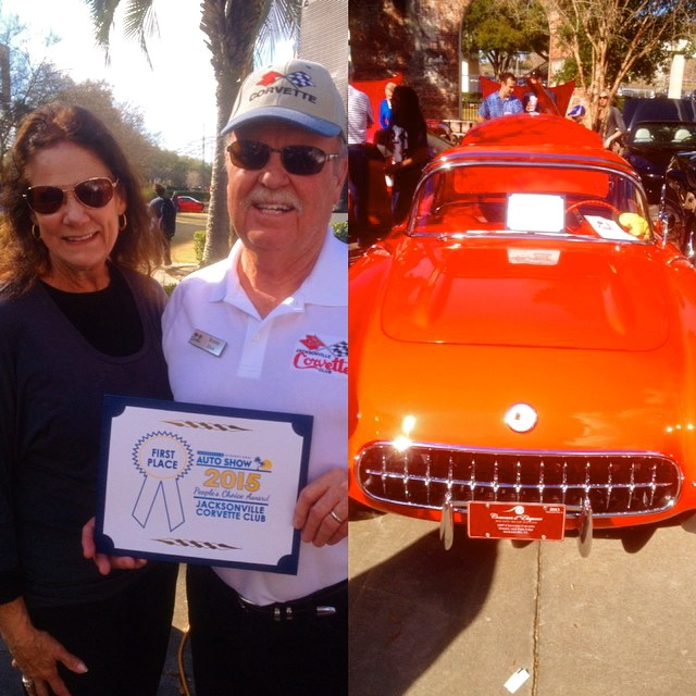 Jacksonville International Auto Show Corvette Club People