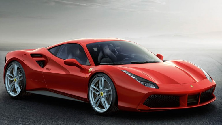 Ferrari Gets Boosted Revealing New 488  GTB Before Geneva Debut