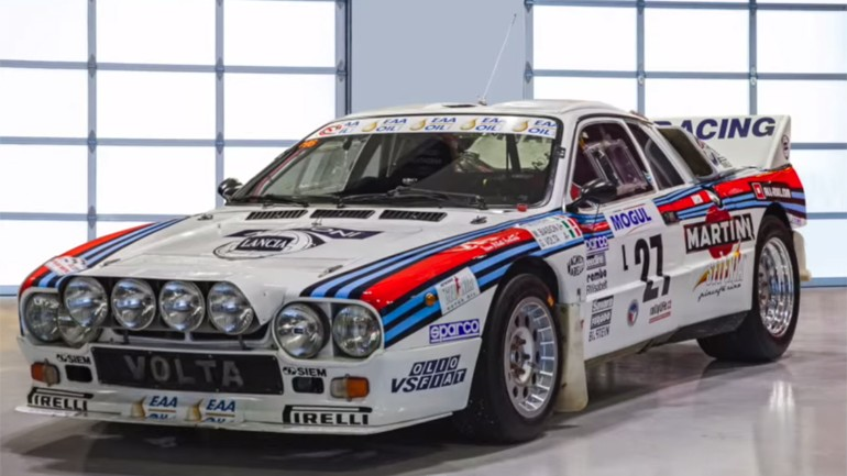 Picking Up A Lancia Rally 037 Group B: From Prague to Jacksonville, FL – Video