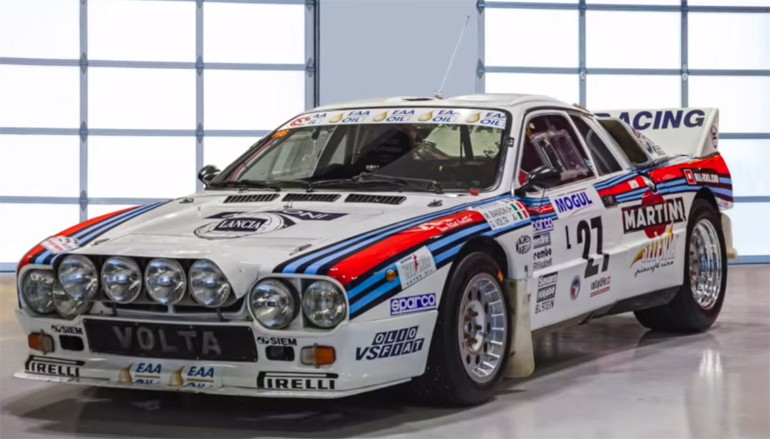 Picking Up A Lancia Rally 037 Group B From Prague To