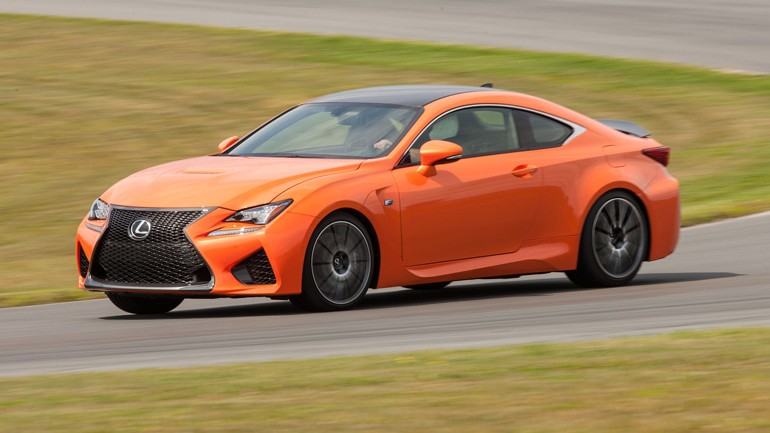 Chris Harris On Cars: 2015 Lexus RCF Road and Track Test – Video