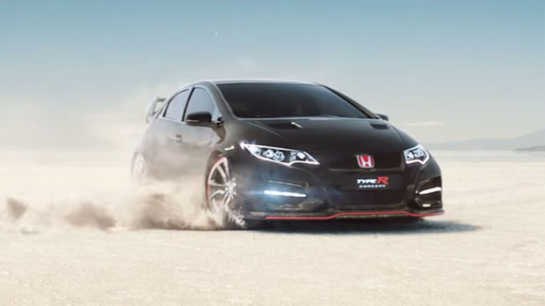 Honda Civic Type R Makes Cameo in New Commercial: Video