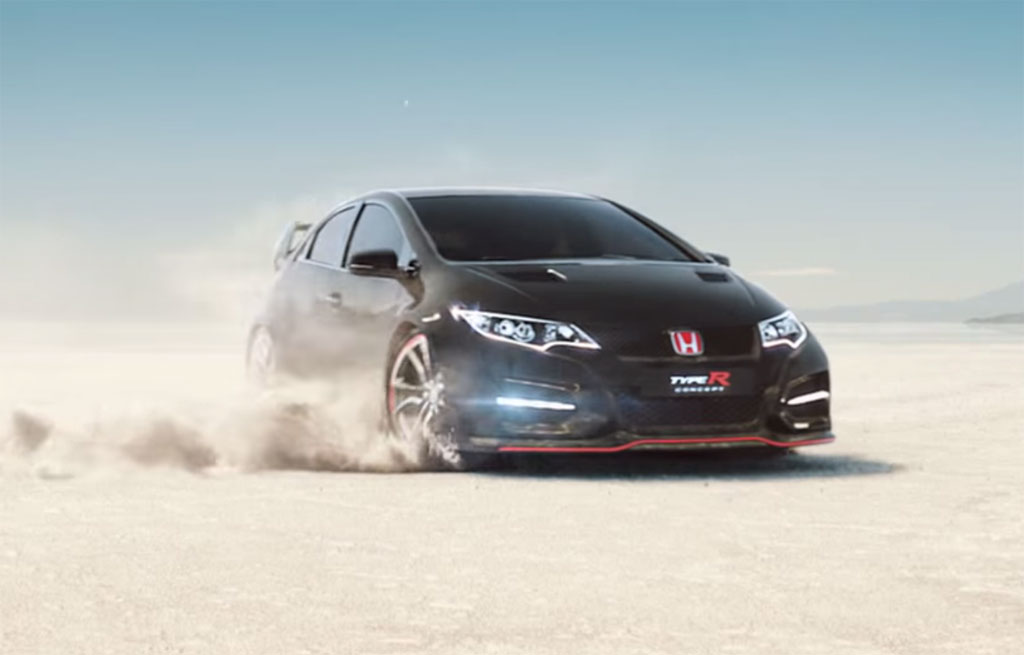 Honda Civic Commercial >> Honda Civic Type R Makes Cameo In New Commercial Video