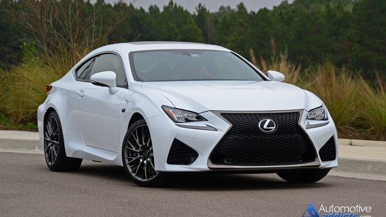 In Our Garage: 2015 Lexus RC F