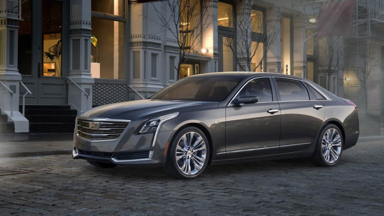 Cadillac Reveals Full-Size CT6 At New York Auto Show