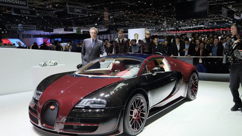 Bugatti Veyron Bids Farewell With One Last Grand Sport Vitesse 'La Finale'