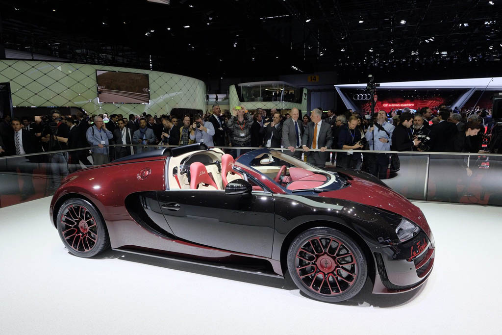 bugatti veyron bids farewell with one last grand sport vitesse la finale. Black Bedroom Furniture Sets. Home Design Ideas
