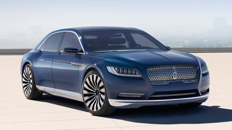 Lincoln Continental Concept Graces 2015 New York Auto Show