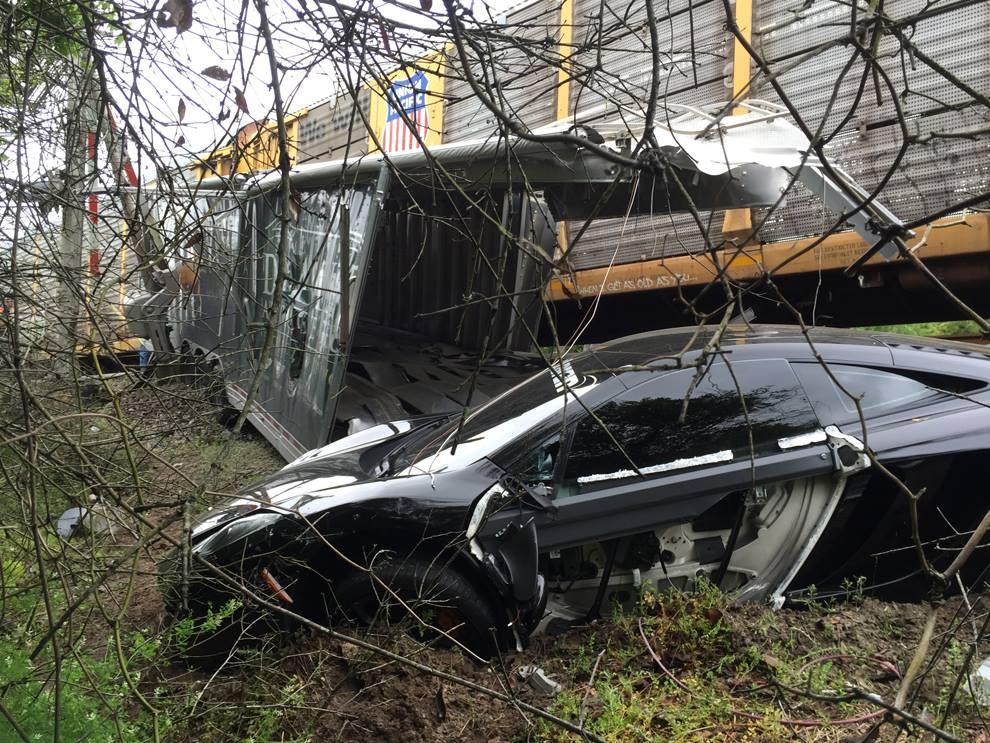 Infiniti Of Orange Park >> McLaren 12C Meets Demise In Orange Park, FL Transport ...