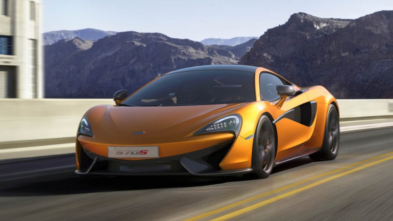 "McLaren 570S Debuts at 2015 New York Auto Show as ""Practical Supercar"" w/562-HP"