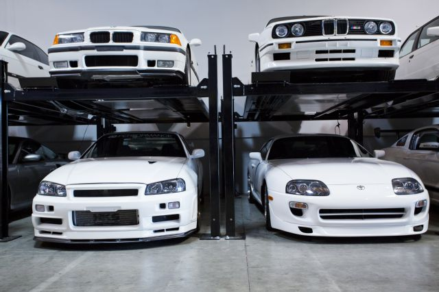 paul-walker-white-toyota-supra-tt-garage