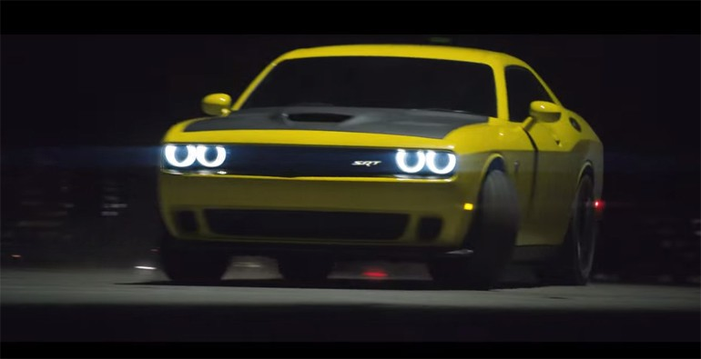 Pennzoil Synthetic Oil Gets Hellacious With Dodge Challenger Hellcat: Airlift Drift Video