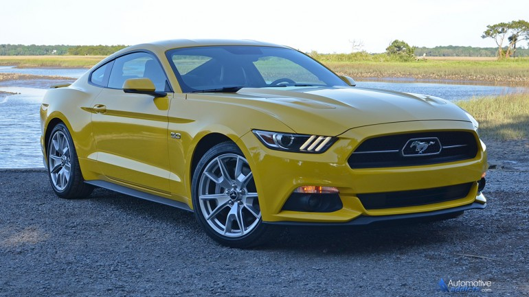 2015 Ford Mustang GT 50th Anniversary Edition Review & Test Drive
