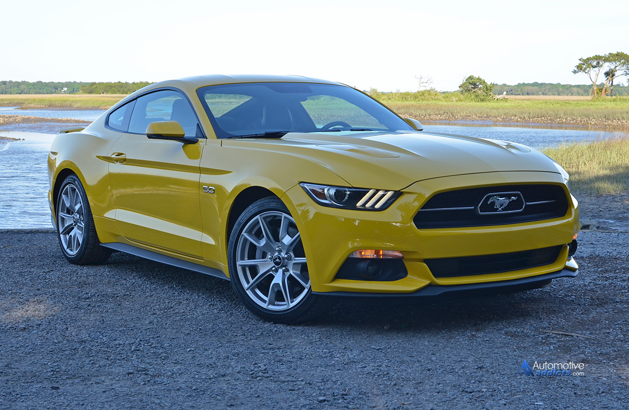 2015 Ford Mustang Gt 50th Anniversary Edition Review Test