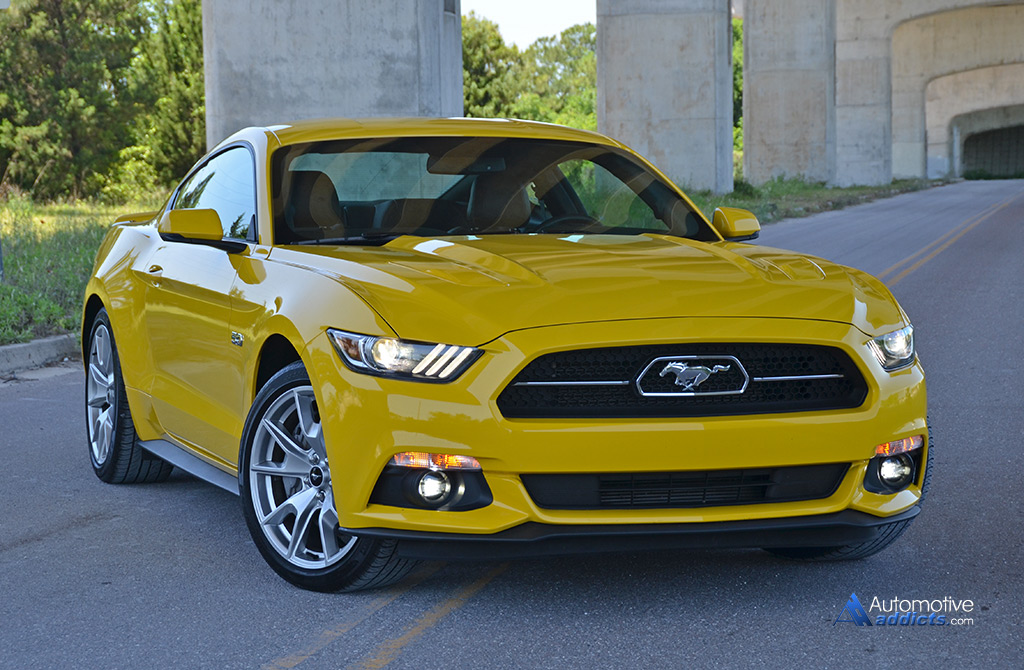 2015 ford mustang gt 50th anniversary edition review test drive. Black Bedroom Furniture Sets. Home Design Ideas