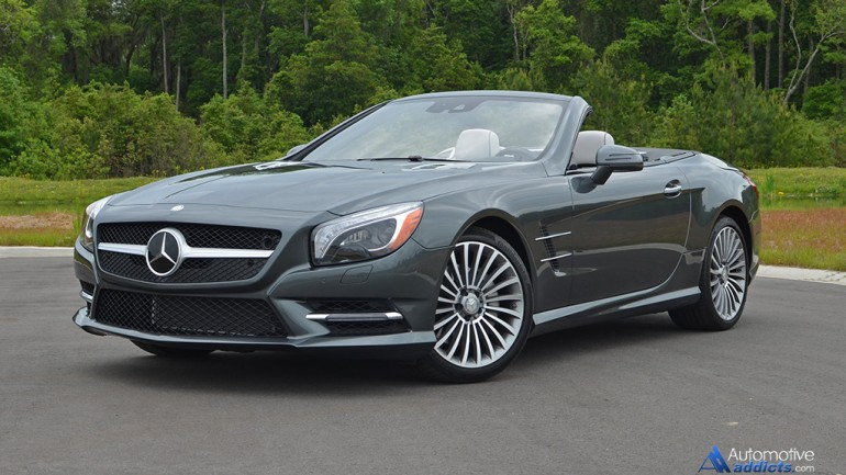 In Our Garage: 2015 Mercedes-Benz SL400 Roadster