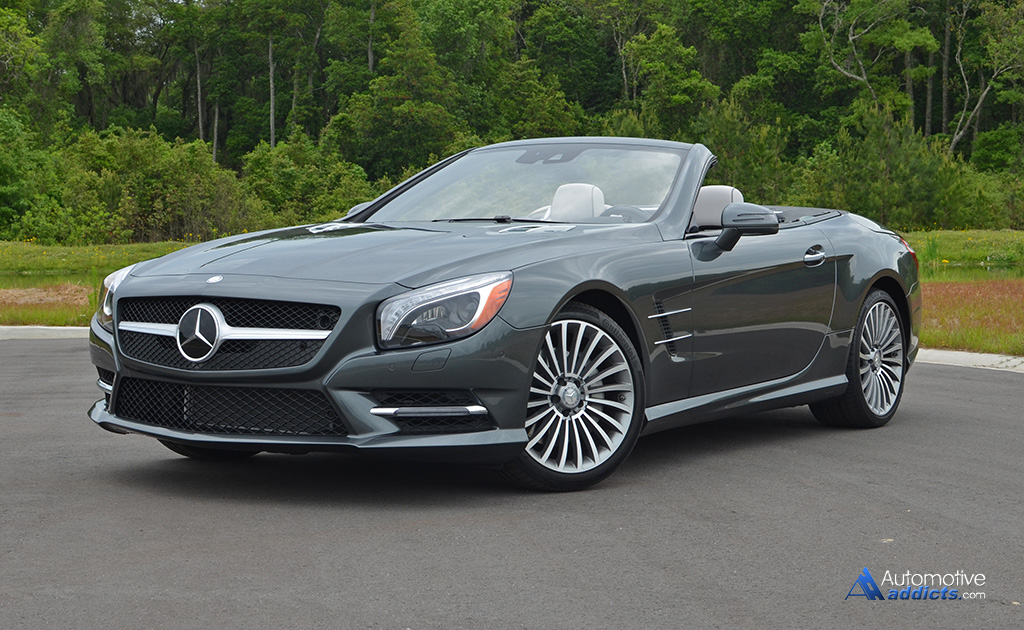 In our garage 2015 mercedes benz sl400 roadster for Mercedes benz sl550 for sale