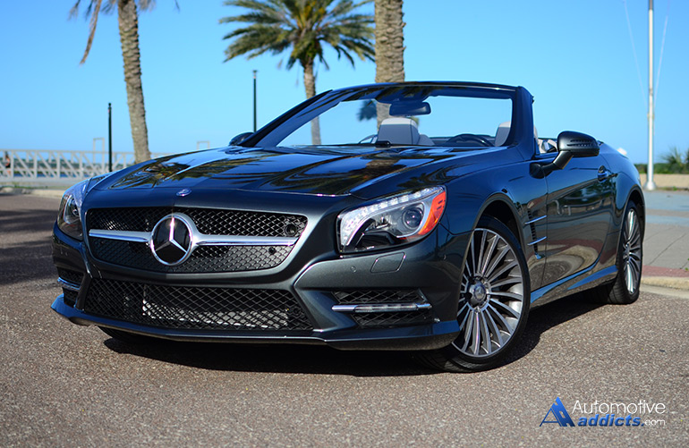 2015 Mercedes Benz Sl400 Roadster Review Amp Test Drive